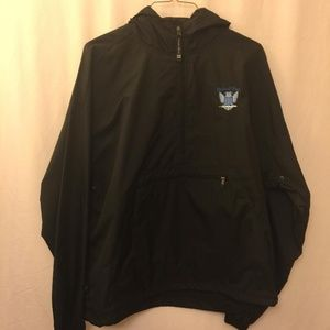 Charles River Pullover Windbreaker Jacket, Size XL
